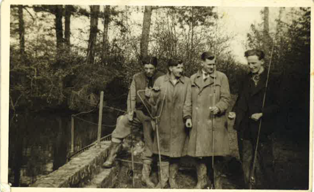 oldies group of fishermen
